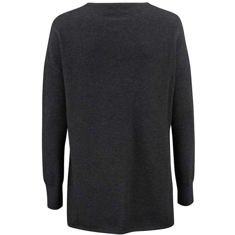 Carnation Sweater Ladies Anthracite Melange