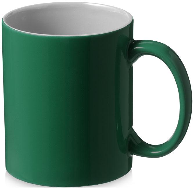 Mugg Java Grön, Vit