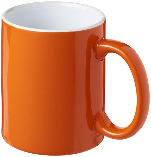 Mugg Java Orange, Vit