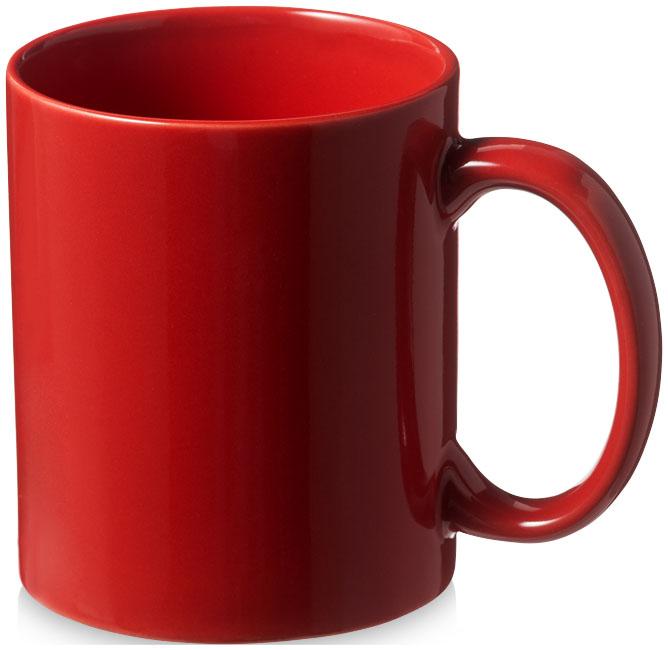 Mugg Santos röd