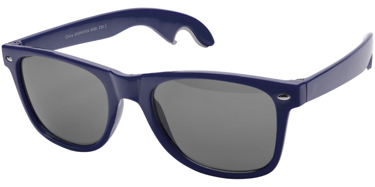 Solglasögon med öppnare Marinblå