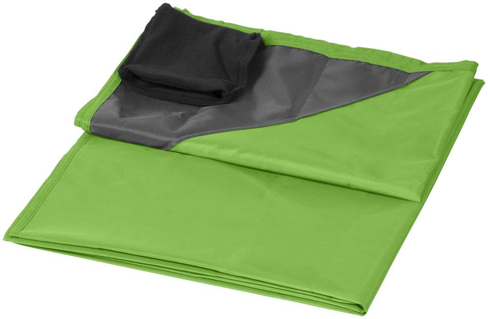 Utomhusfilt limegrön
