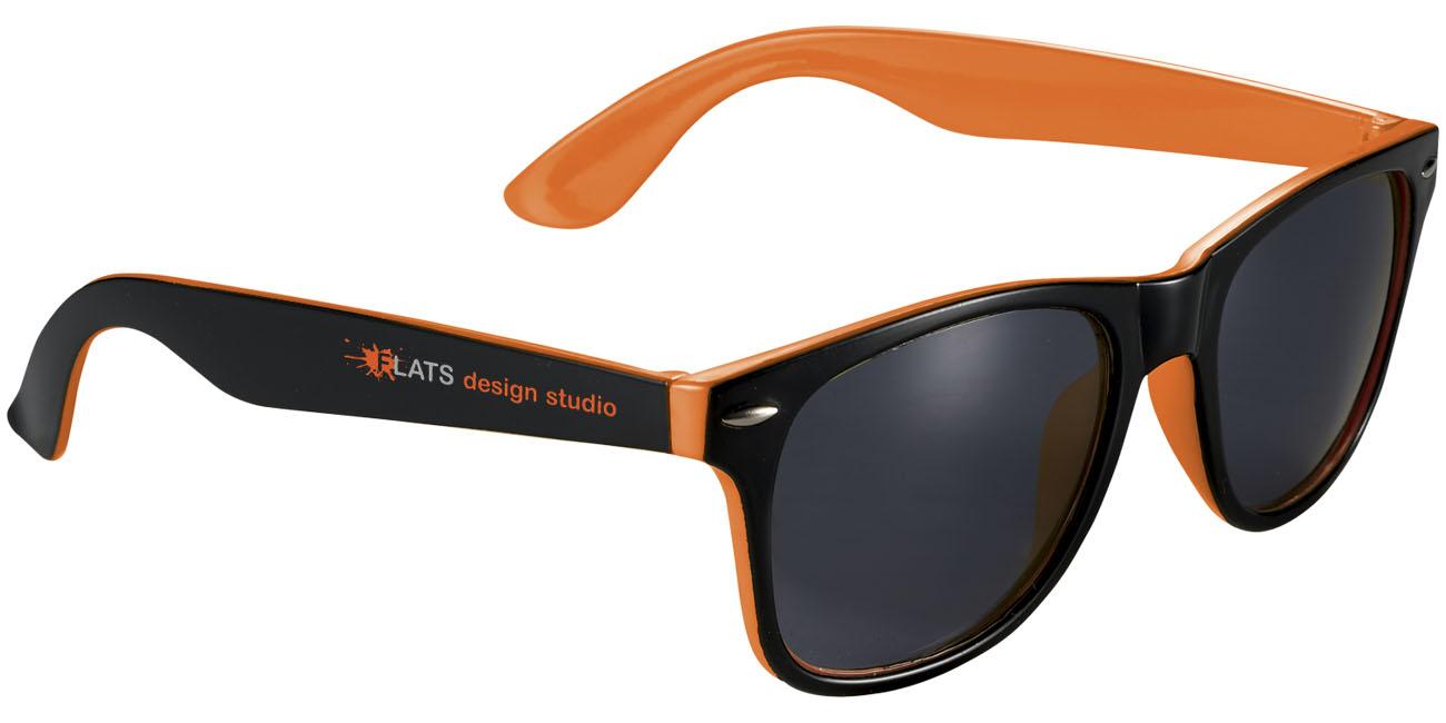 Sun Ray Two-Color Orange, Svart