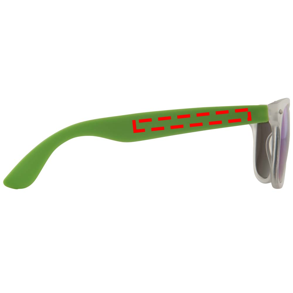 Sun Ray med spegelglas Grön