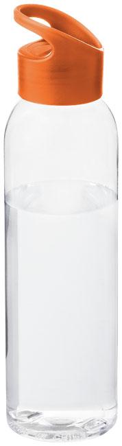 Sky Flaska (transparent) Orange, Transparent