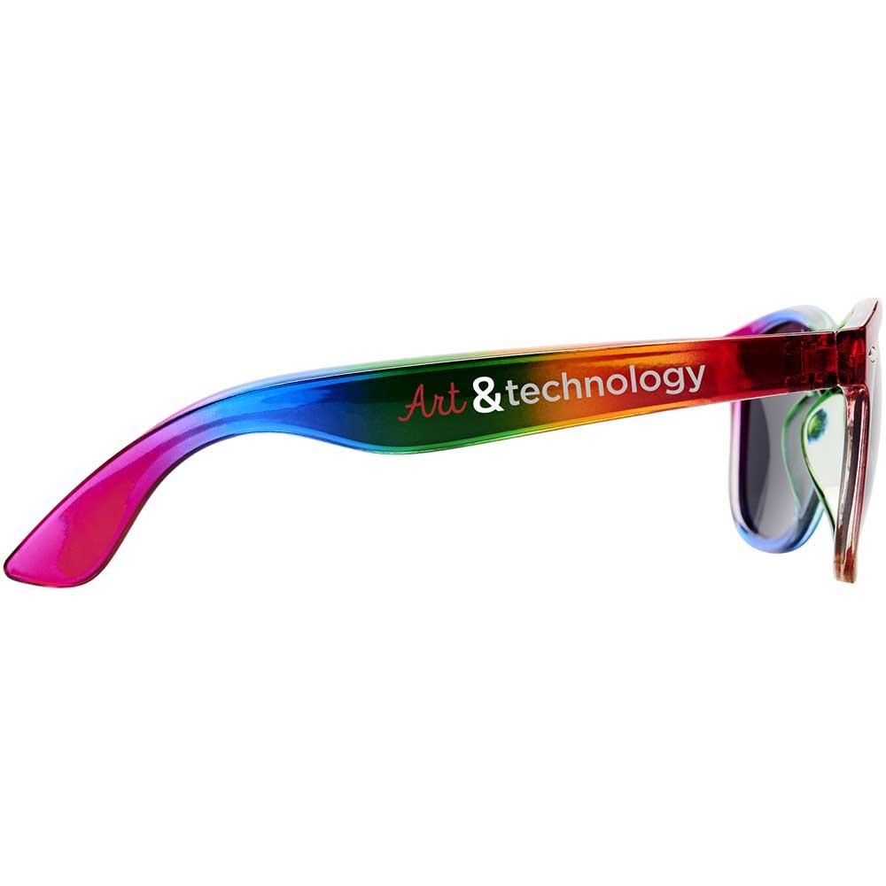 Sun Ray regnbågssolglasögon Regnbågsfärgad