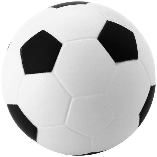 Football Stressavlastare Svart, Vit
