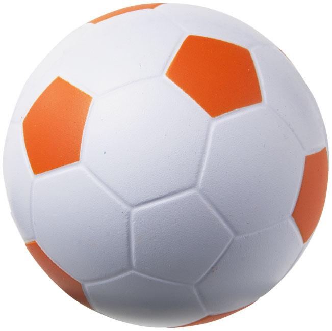 Football Stressavlastare Orange, Vit