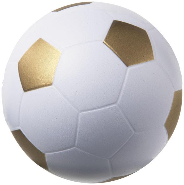 Football Stressavlastare Guldgul, Vit