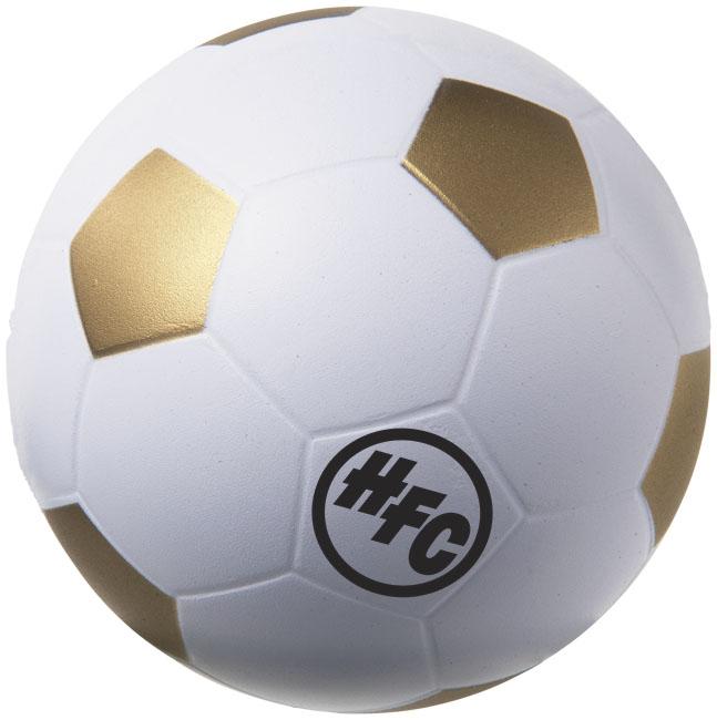 Football Stressavlastare guldgul,vit