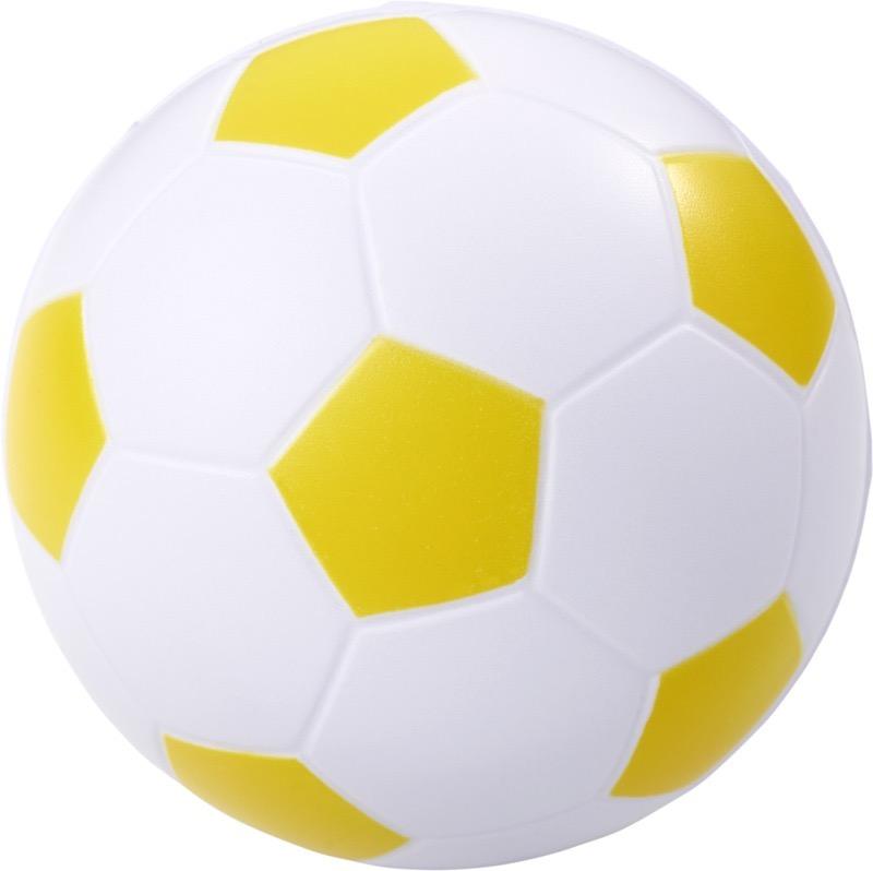 Football Stressavlastare Gul, Vit
