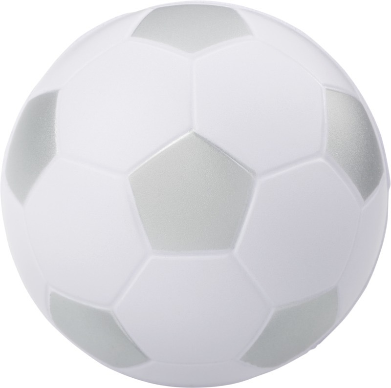 Football Stressavlastare Silver, Vit