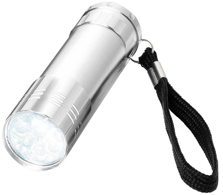 LED Lampa silver