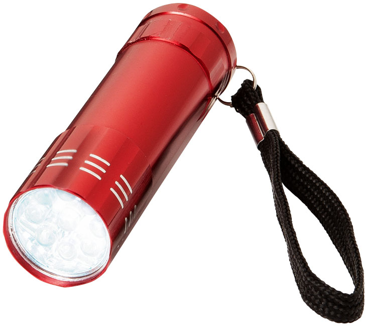 LED Lampa röd