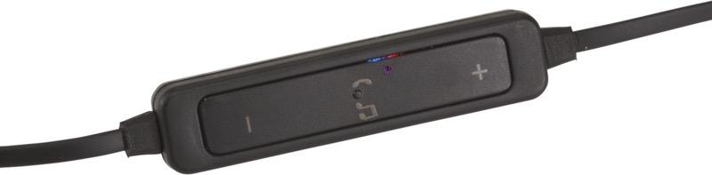 Bluetooth® metallöronsnäckor Svart