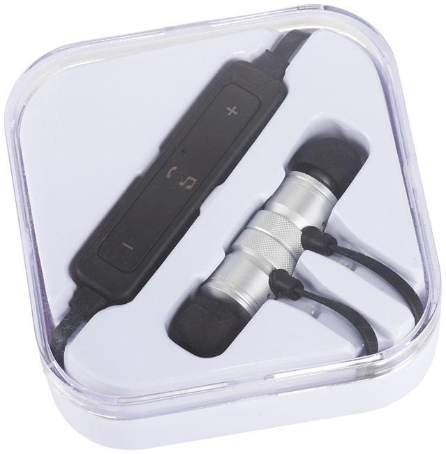 Bluetooth® metallöronsnäckor silver