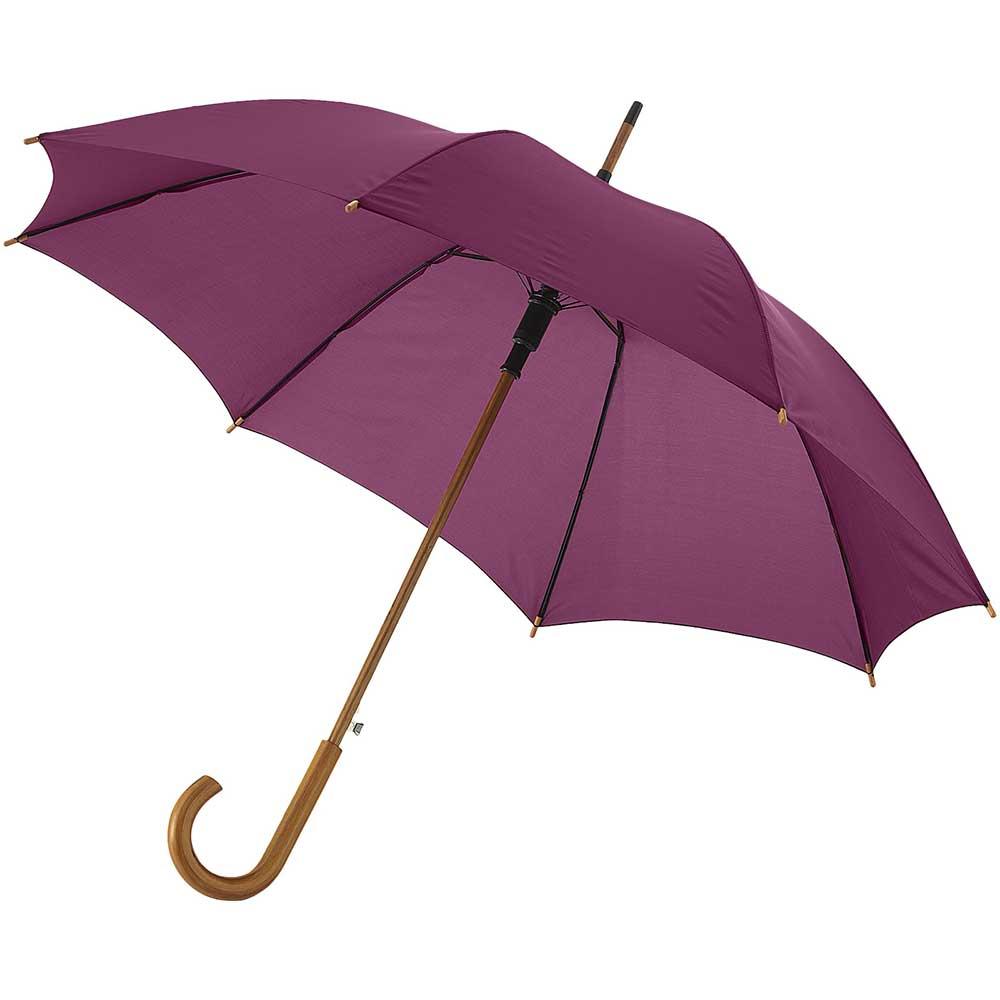 23''Autom.Class.Umbrella vinröd