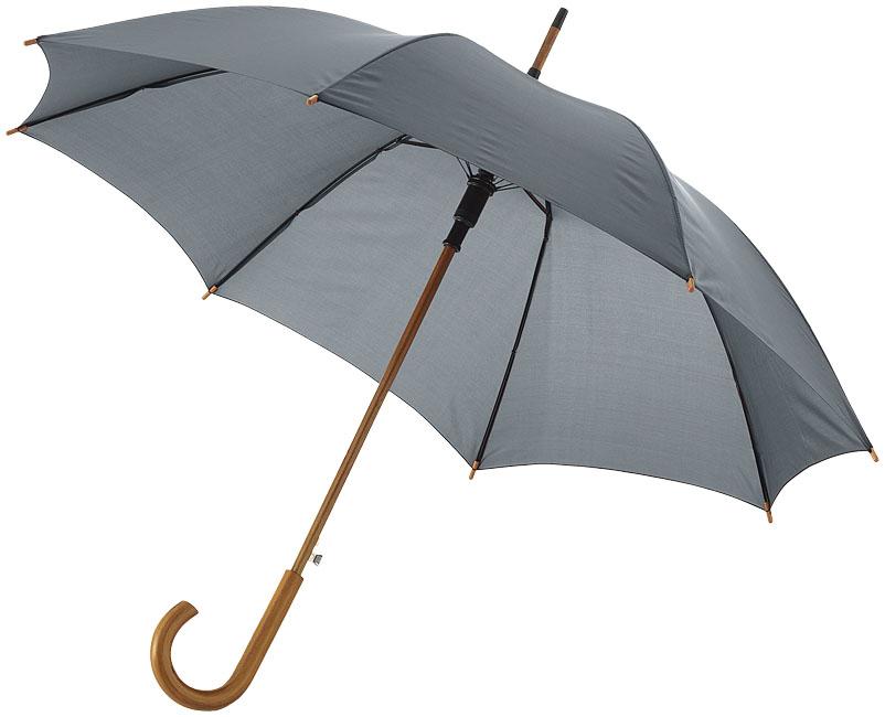 23''Autom.Class.Umbrella Grå