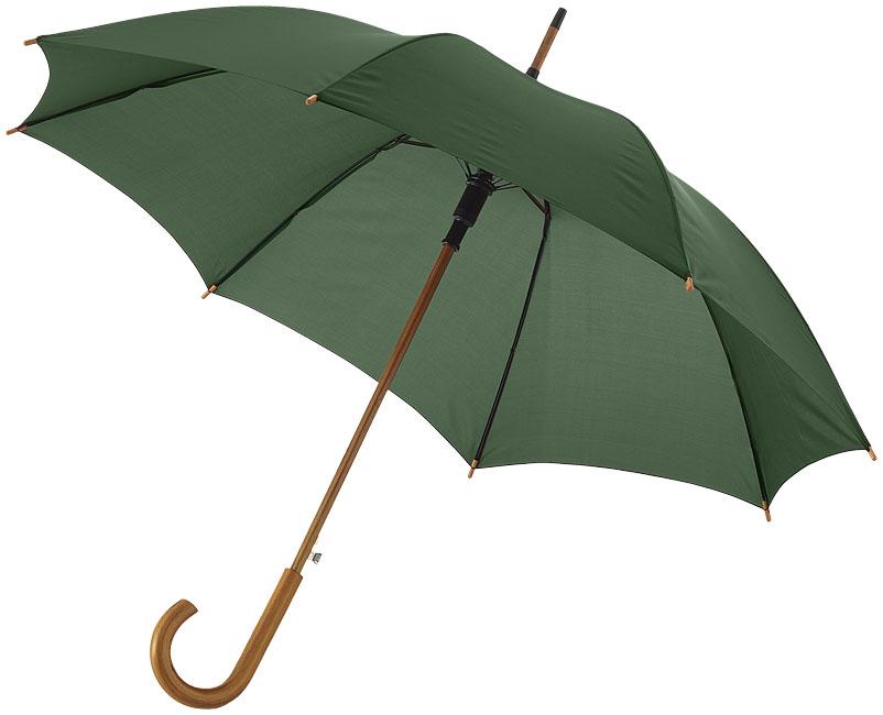 23''Autom.Class.Umbrella Skogsgrön