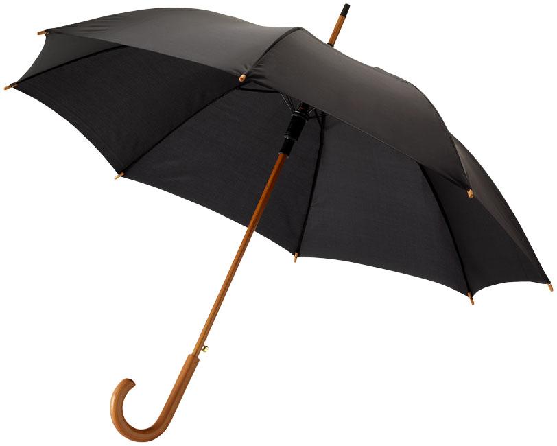 23''Autom.Class.Umbrella Svart