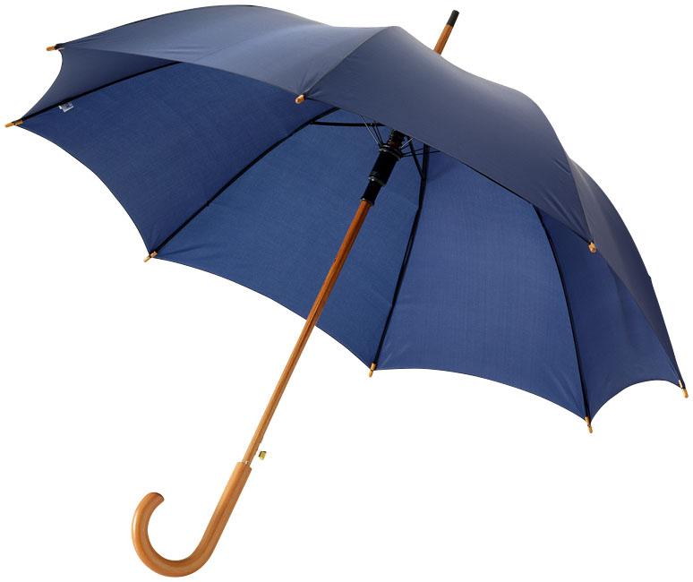 23''Autom.Class.Umbrella Marinblå
