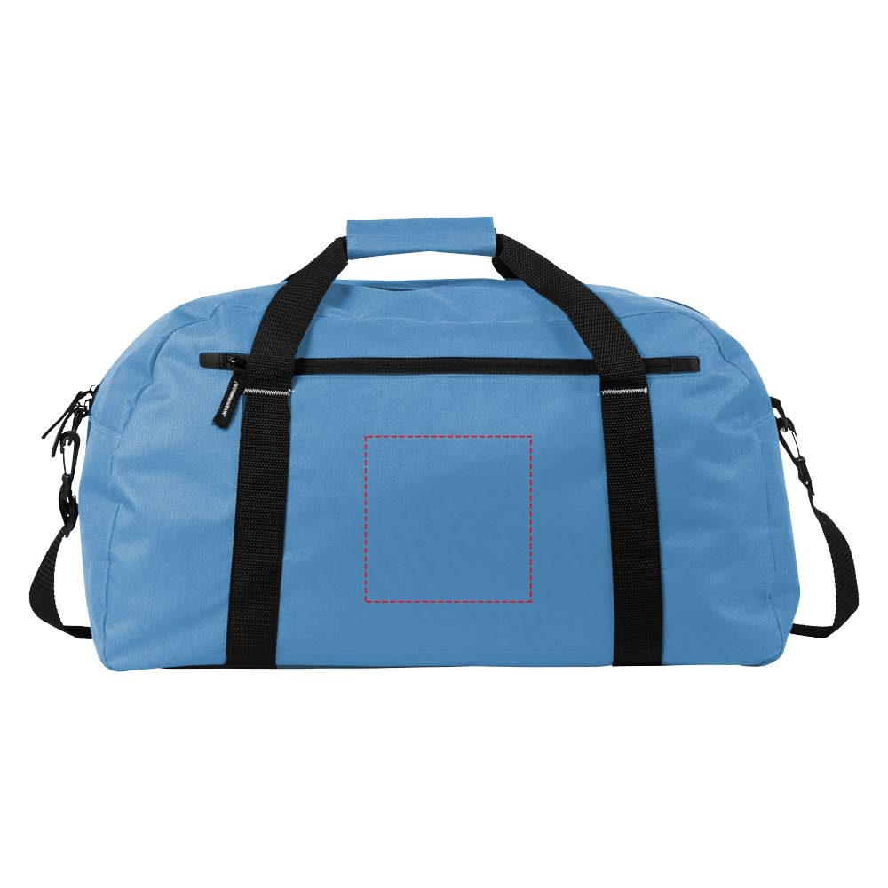 Vancouver Travel Bag  Svart, Röd