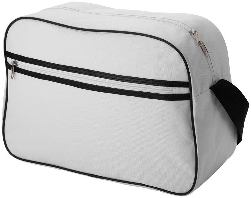 Shoulder Bag vit,svart