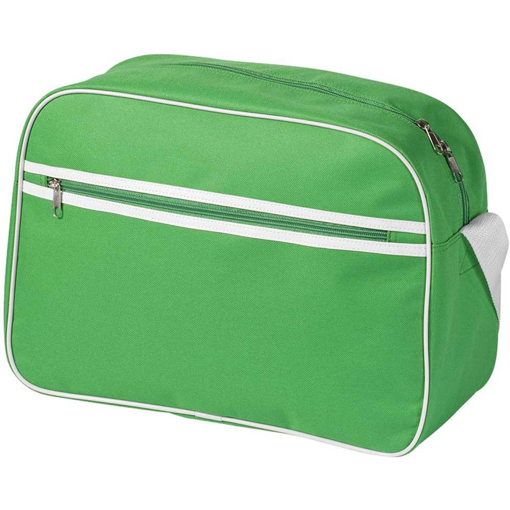 Shoulder Bag Klargrön, Vit