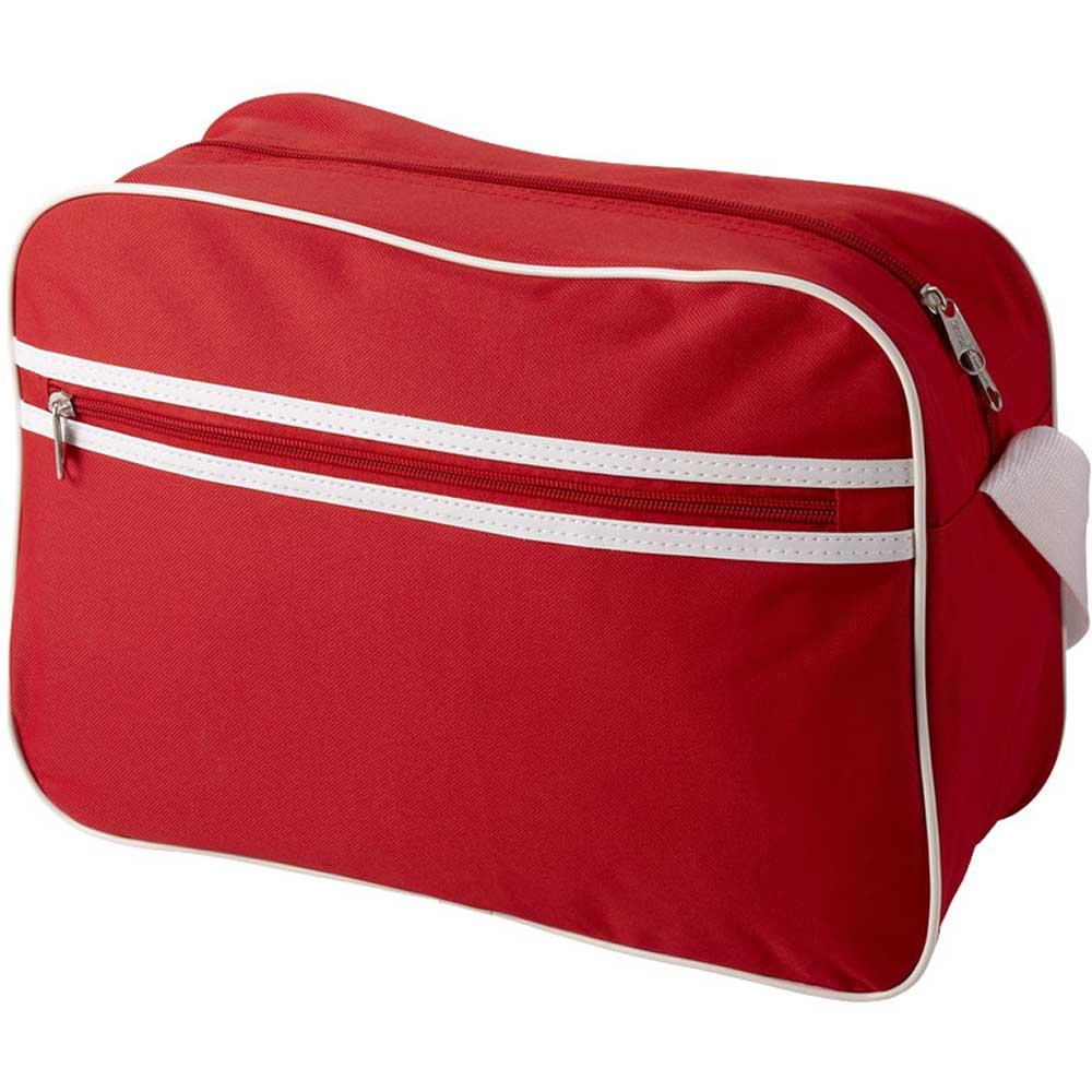 Shoulder Bag Röd, Vit