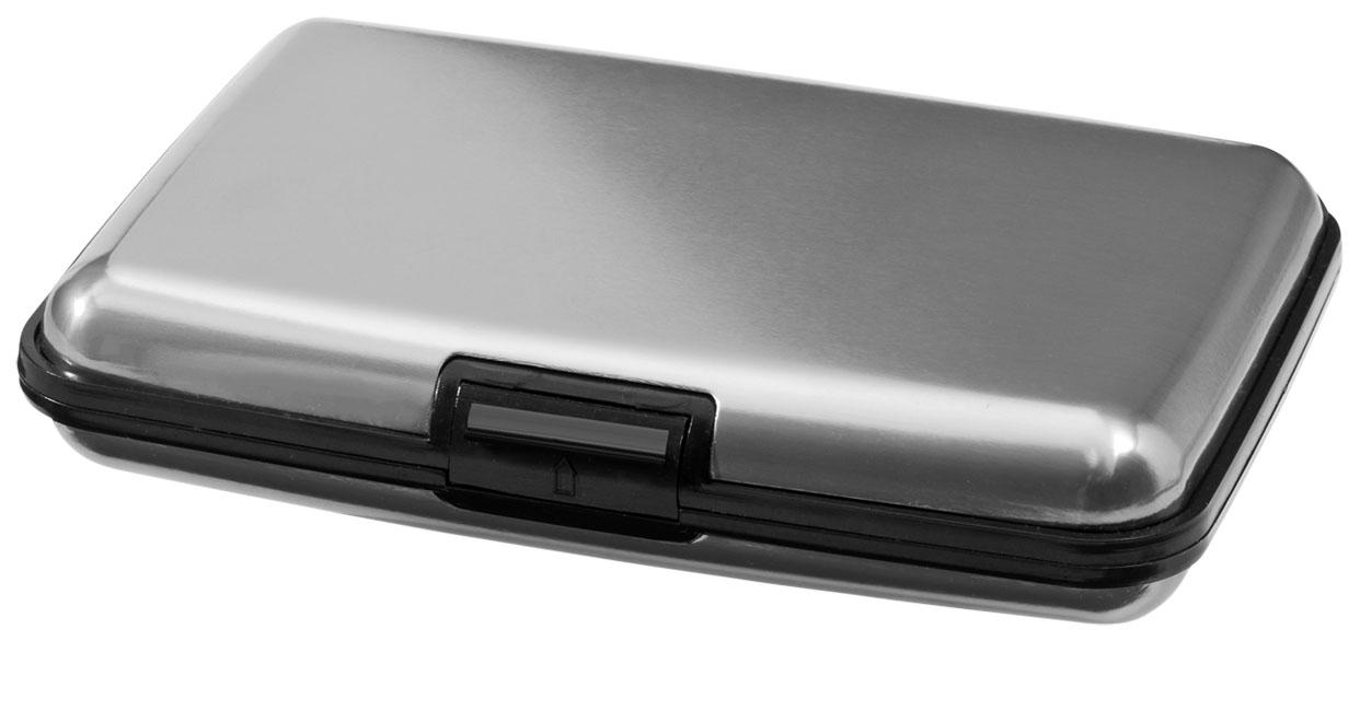 Kreditkortshållare grå