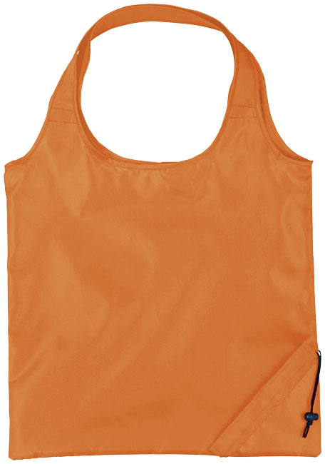 Bungalow vikbar shoppingkasse orange