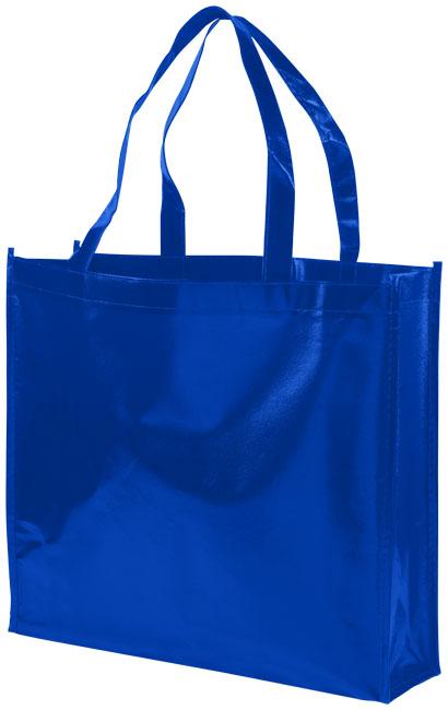 Shoppingväska i non-woven kungsblå