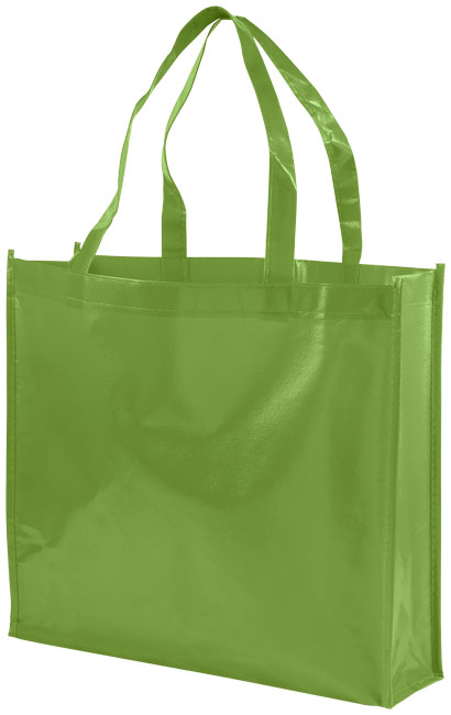 Shoppingväska i non-woven limegrön