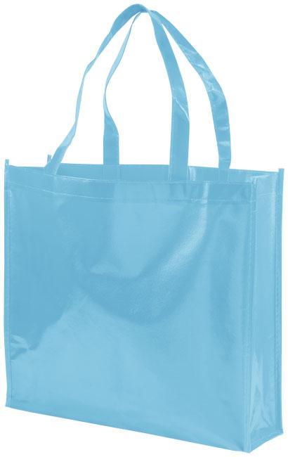 Shoppingväska i non-woven processblå