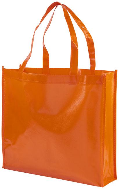 Shoppingväska i non-woven orange