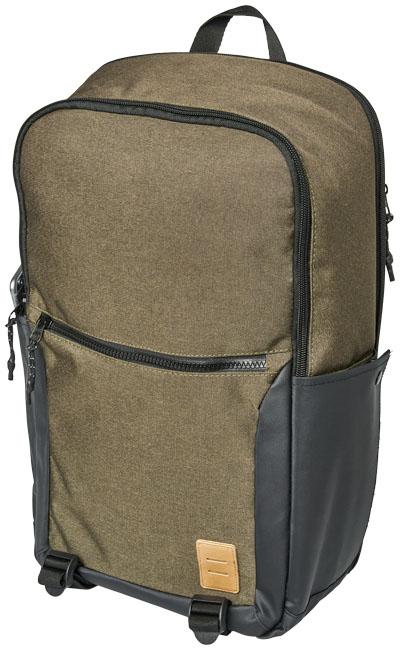 Olivfärgad rygga. 47x31x15 cm (hxbxl)