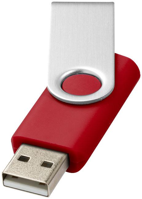 Rotate Basic USB 2GB Röd, Silver