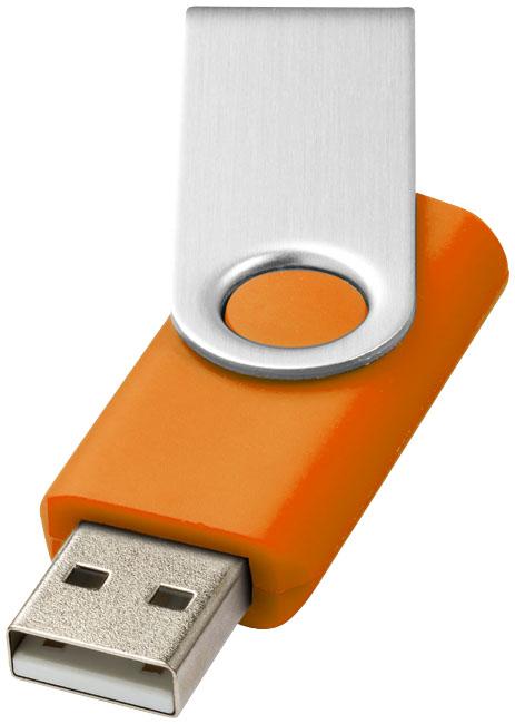 Rotate Basic USB 2GB Orange, Silver