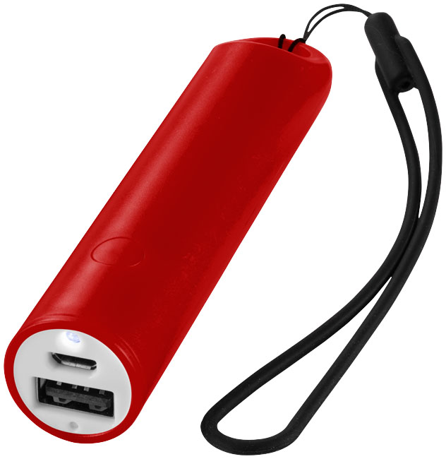 Beam Power Bank röd
