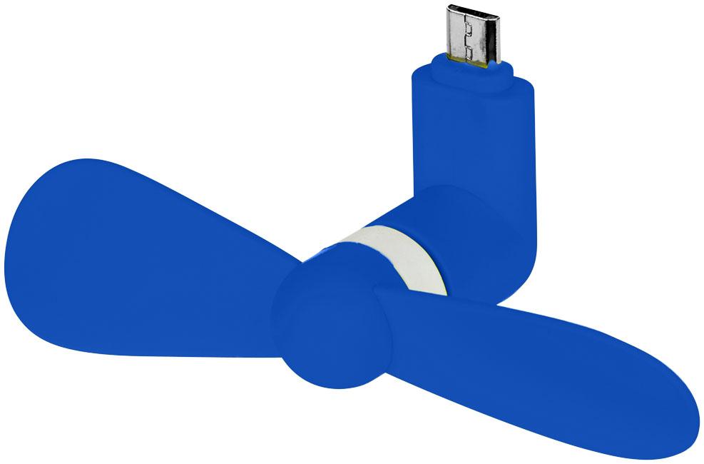 Airing micro USB-fläkt kungsblå
