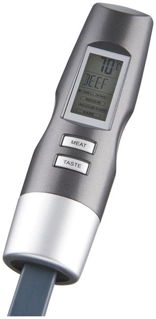 Wells digital gaffeltermometer Grå