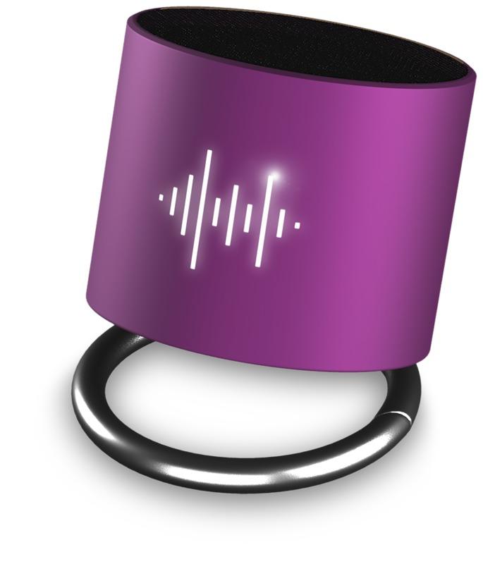 SCX.design Light-Up Ringhögtalare lila/vit