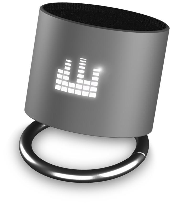 SCX.design Light-Up Ringhögtalare gunmetal