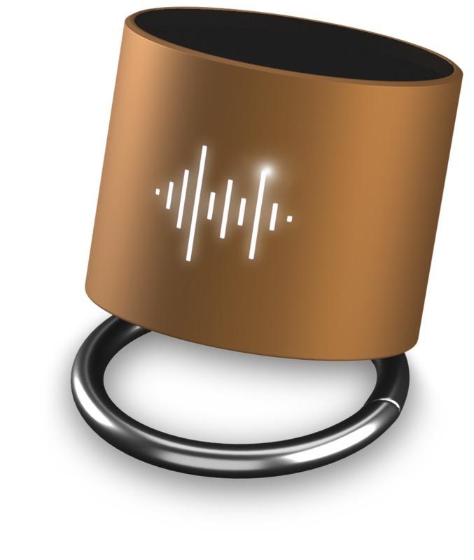 SCX.design Light-Up Ringhögtalare guldbrun