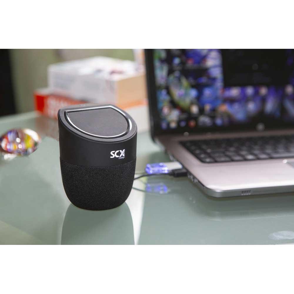 SCX design, trådlös högtalare svart