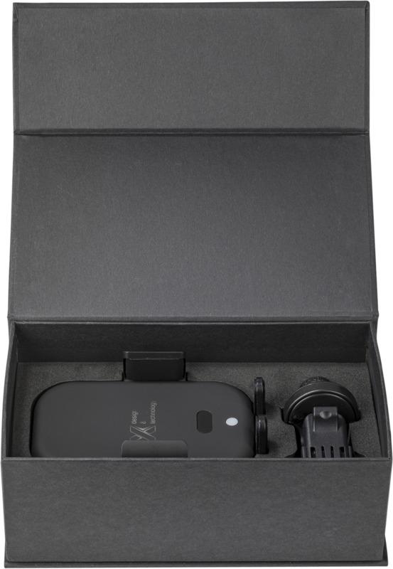 SCX.design Autogrip-Billaddare svart