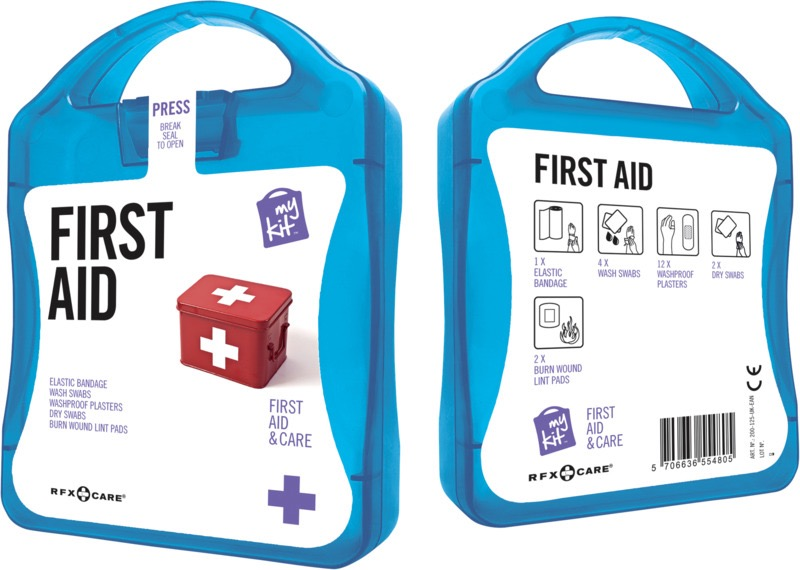 My Kit First Aid blå