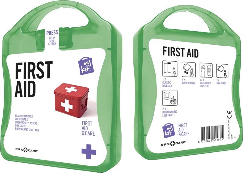 My Kit First Aid grön