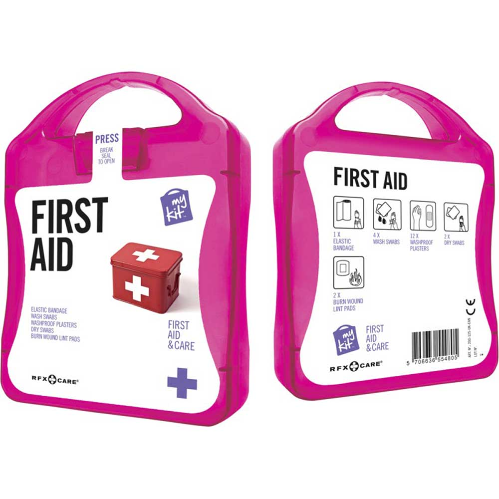 My Kit First Aid magenta