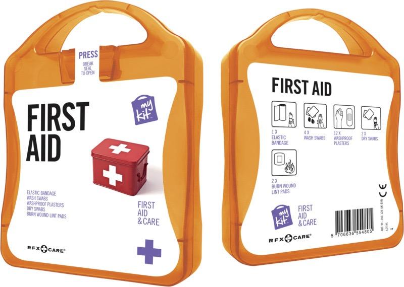 My Kit First Aid orange